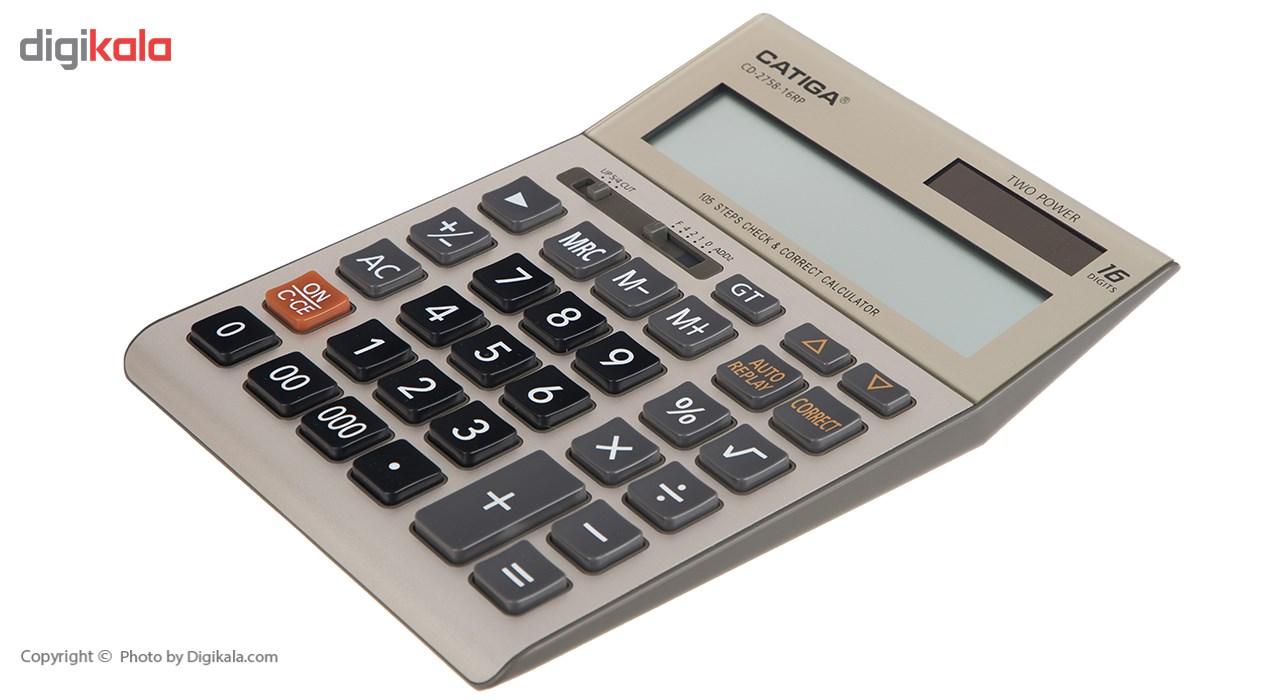 قیمت                      ماشین حساب کاتیگا مدل CD-2758-16RP