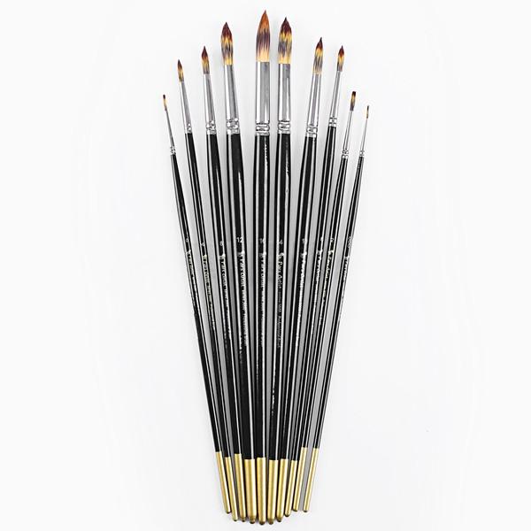 قلم مو پارس آرتیست کد 3000 ست 10 عددی