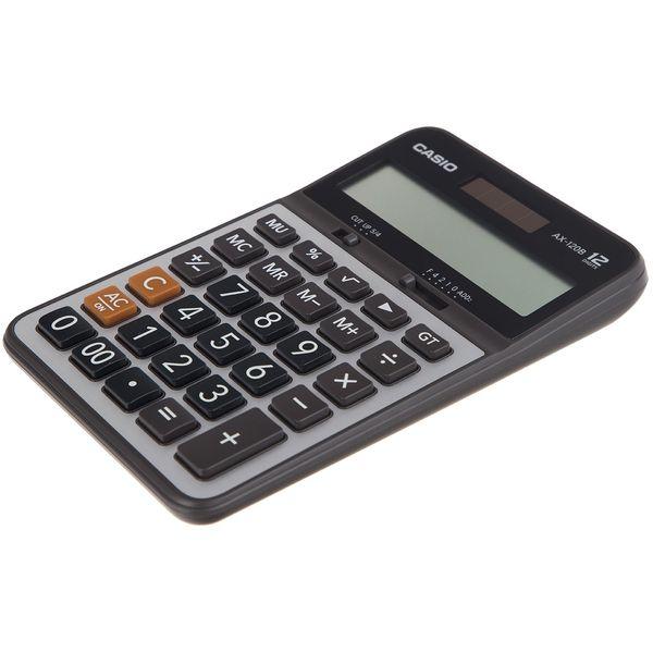 ماشین حساب کاسیو مدل AX-120B | CASIO AX-120B Calculator