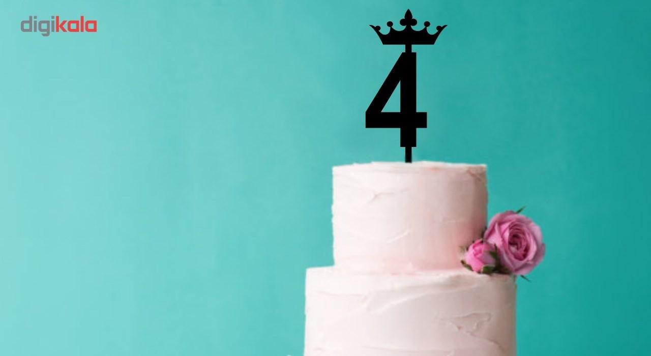 تاپر کیک تولد هوم آرت مدل HACA012