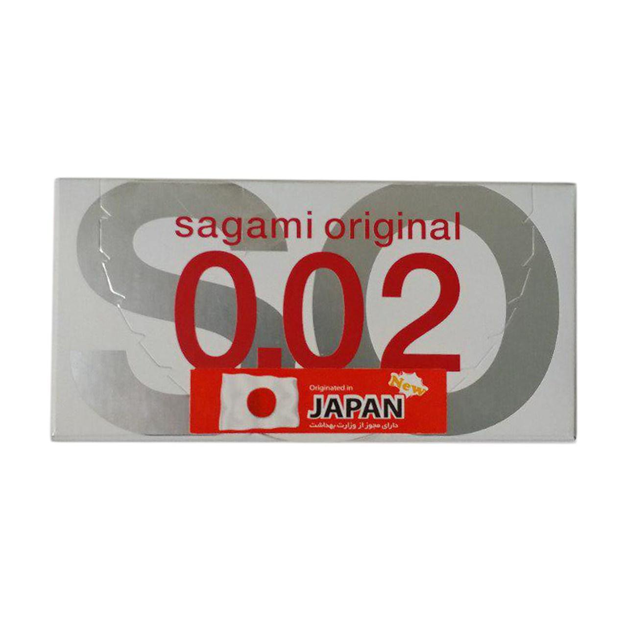 قیمت کاندوم ساگامی مدل Polyurethane بسته دو عددی
