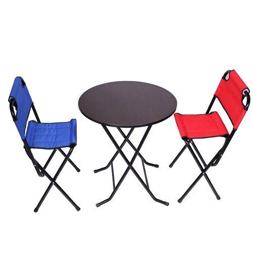 میز و صندلی سفری تاشو و تنظیم شو مدل 1120
