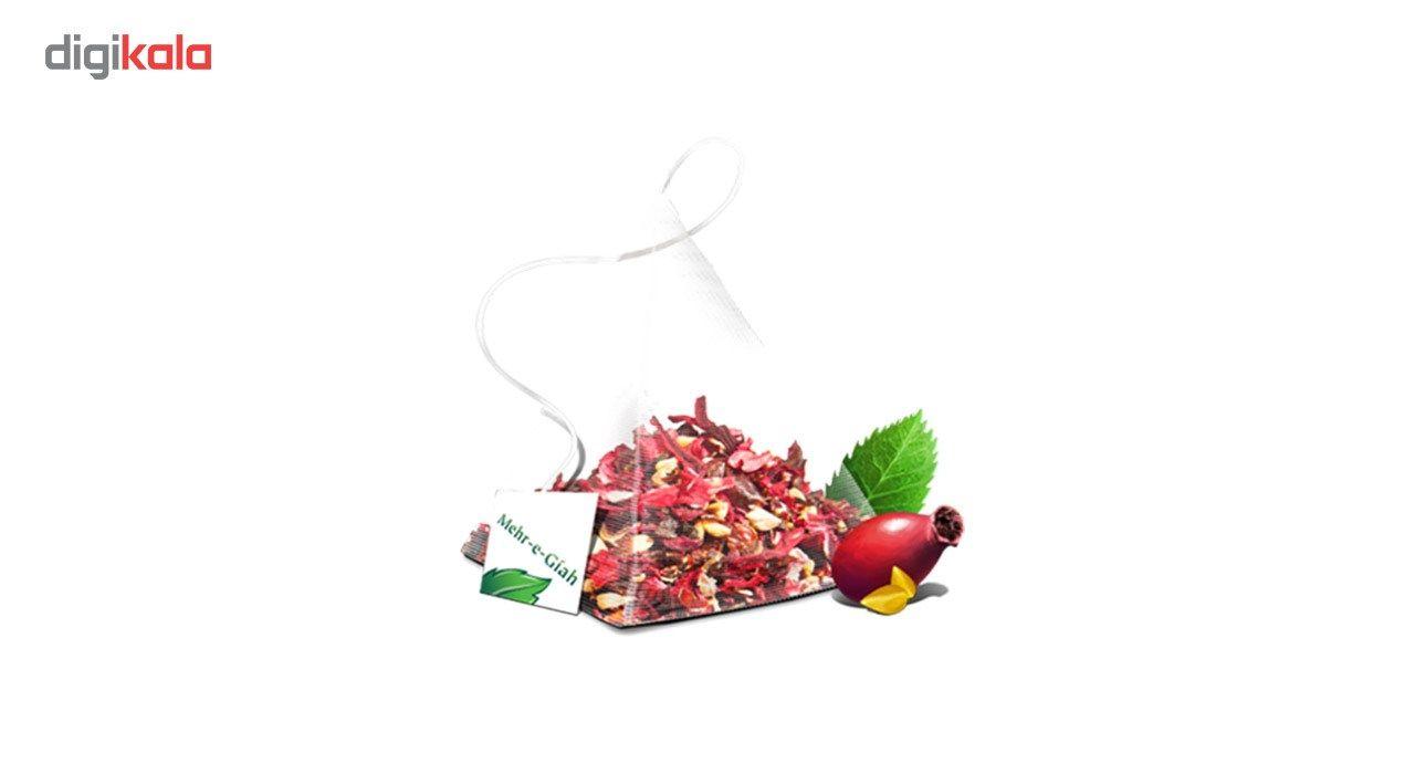 دمنوش گیاهی چای ترش مهرگیاه بسته 14 عددی main 1 9