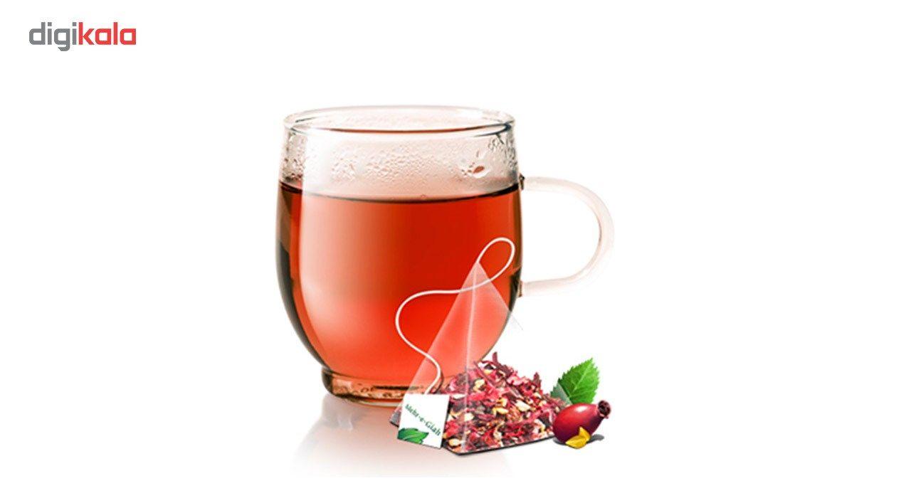 دمنوش گیاهی چای ترش مهرگیاه بسته 14 عددی main 1 11