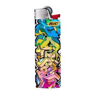 فندک بیک طرح گرافیتی کد F8