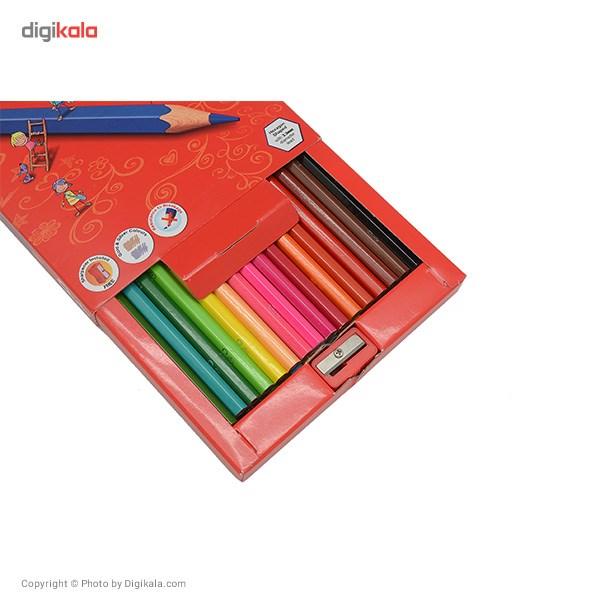 مداد رنگی 36 رنگ کوییلو کد 634005