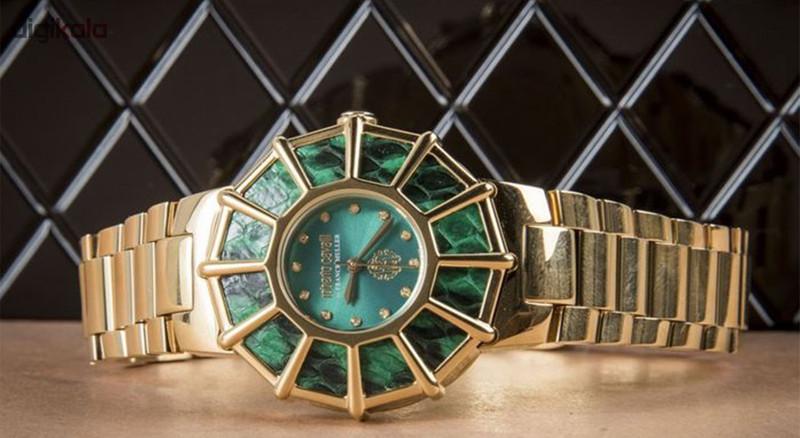 ساعت مچی عقربه ای زنانه روبرتو کاوالی مدل RV2L009M0121
