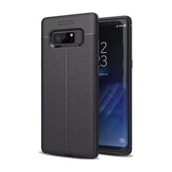 کاور ژله ای طرح چرم مناسب برای گوشی موبایل سامسونگ Note 8