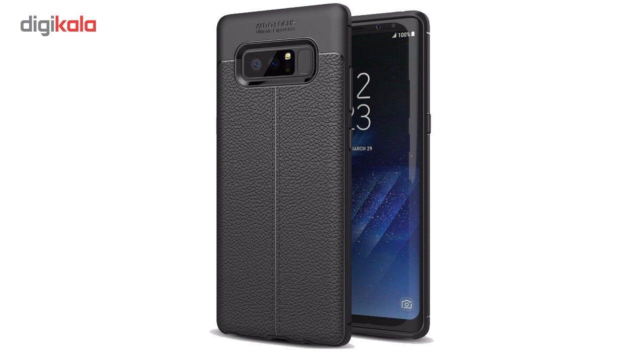 کاور ژله ای طرح چرم مناسب برای گوشی موبایل سامسونگ Note 8 main 1 1