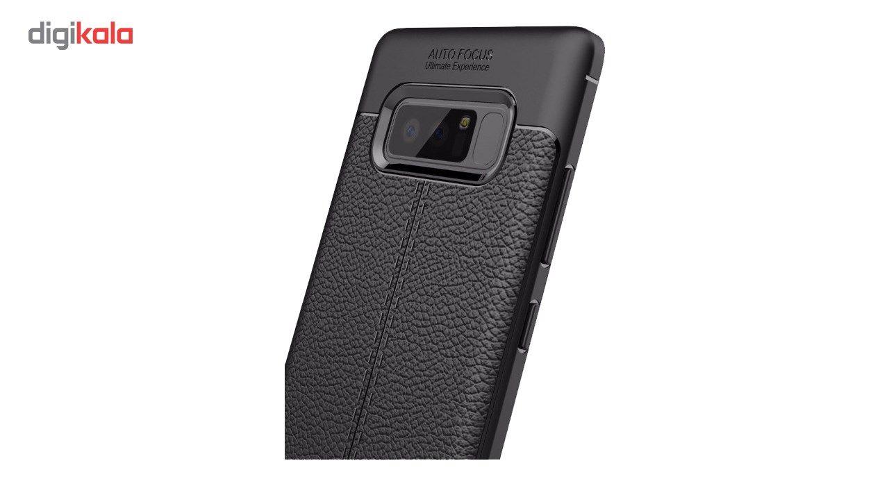 کاور ژله ای طرح چرم مناسب برای گوشی موبایل سامسونگ Note 8 main 1 2