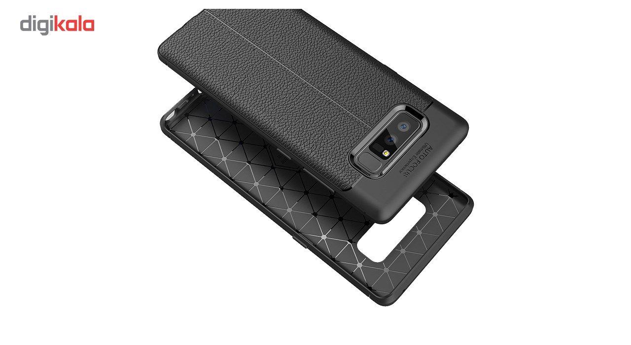 کاور ژله ای طرح چرم مناسب برای گوشی موبایل سامسونگ Note 8 main 1 3