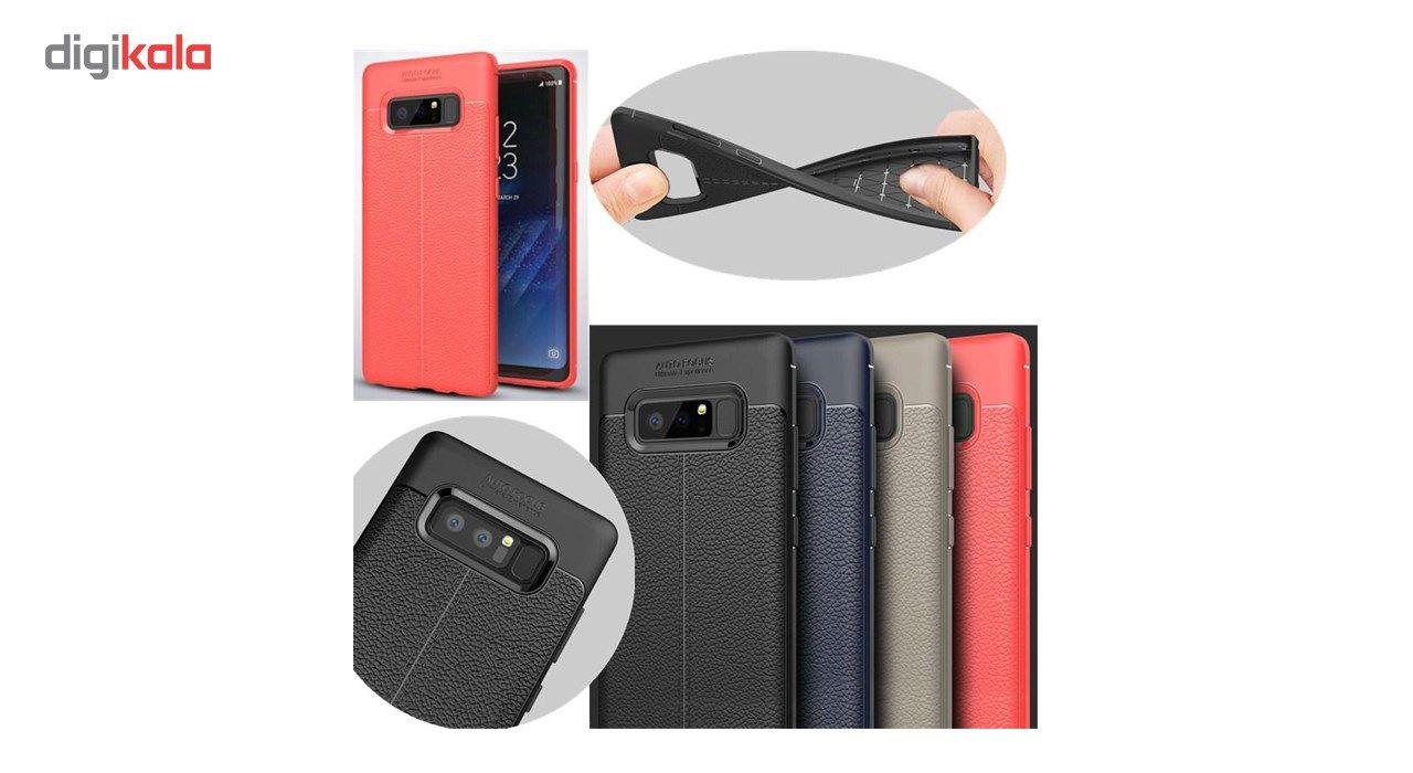 کاور ژله ای طرح چرم مناسب برای گوشی موبایل سامسونگ Note 8 main 1 4