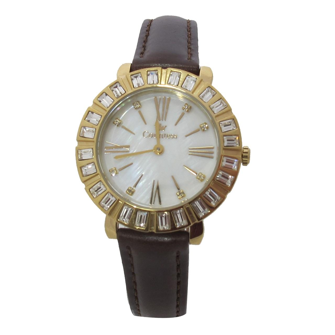 ساعت زنانه برند کنتس مدل CTS14607GA