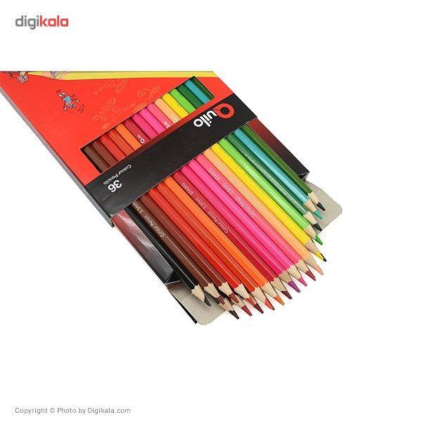 مداد رنگی 36 رنگ کوییلو کد 634005 main 1 3