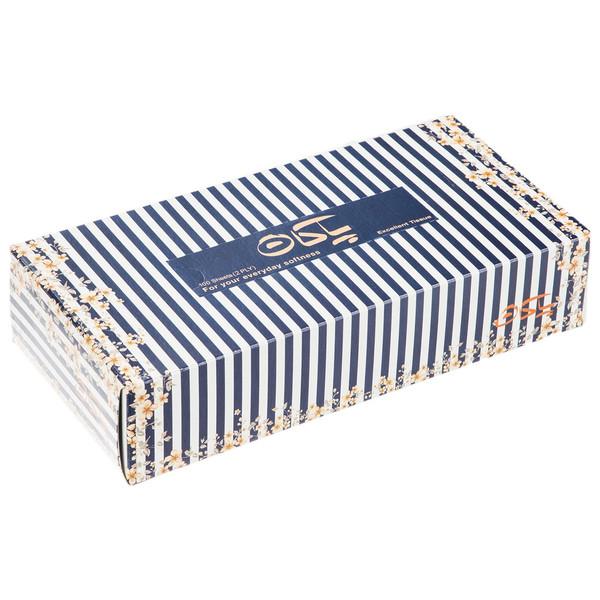 دستمال کاغذی 100 برگ پاکان مدل Bahar