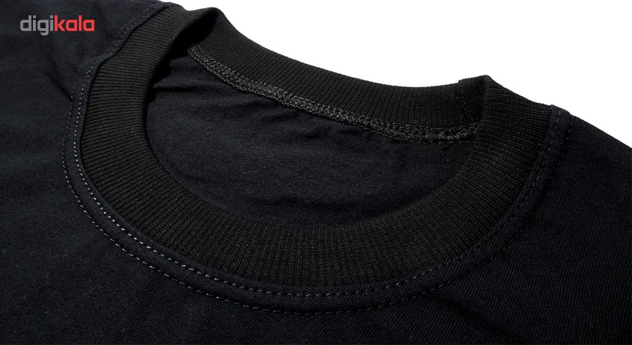 تی شرت  نخی پارس طرح غلام ننم کد 3901 BW