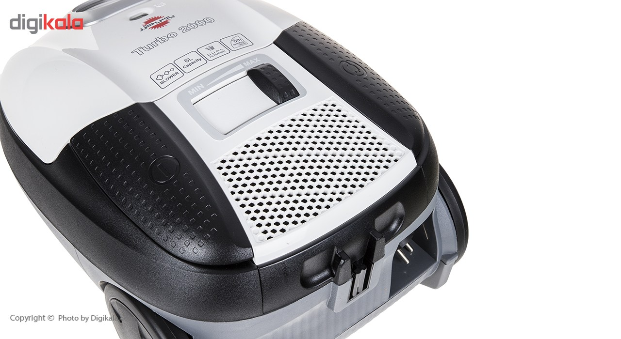 جارو برقی پارس خزر مدل Turbo 2000