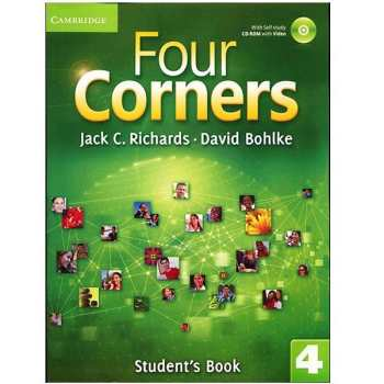 کتاب زبان Four Corners 4 Students Book + Workbook