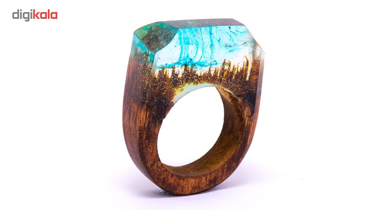 انگشتر باربد طرح چوبی کد S4