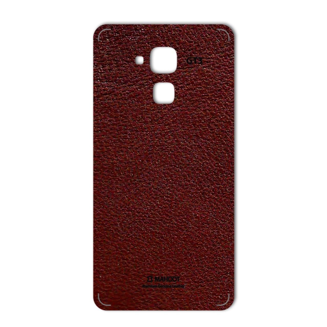 برچسب تزئینی ماهوت مدلNatural Leather مناسب برای گوشی  Huawei GT3