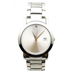 ساعت مچی عقربه ای لاروس مدل LMW-A114-Silver