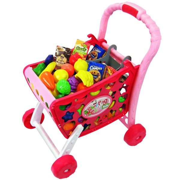 اسباب بازی چرخ دستی فروشگاهی ژیونگ چنگ مدل Shopping Cart