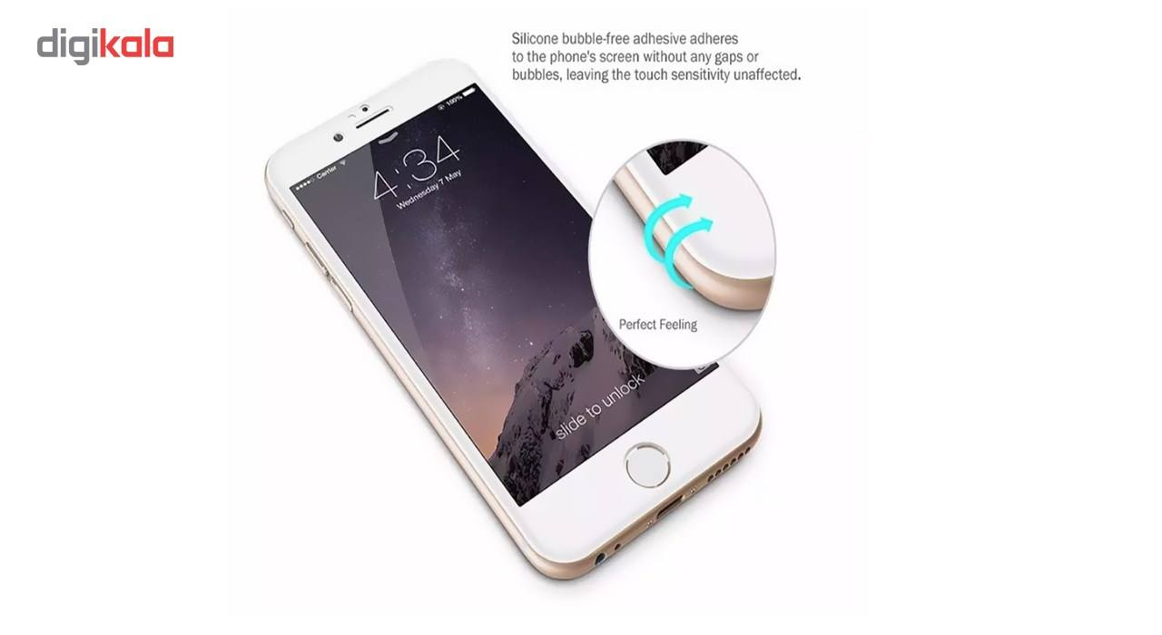 محافظ صفحه نمایش شیشه ای مات Full Cover و پشت شیشه ای Tempered کوالا مناسب برای گوشی موبایل اپل آیفون  7Plus/8 Plus main 1 3