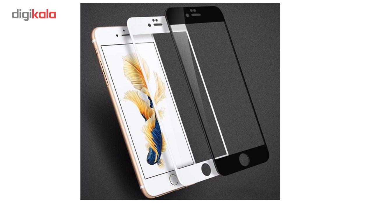 محافظ صفحه نمایش شیشه ای مات Full Cover و پشت شیشه ای Tempered کوالا مناسب برای گوشی موبایل اپل آیفون  7Plus/8 Plus main 1 5