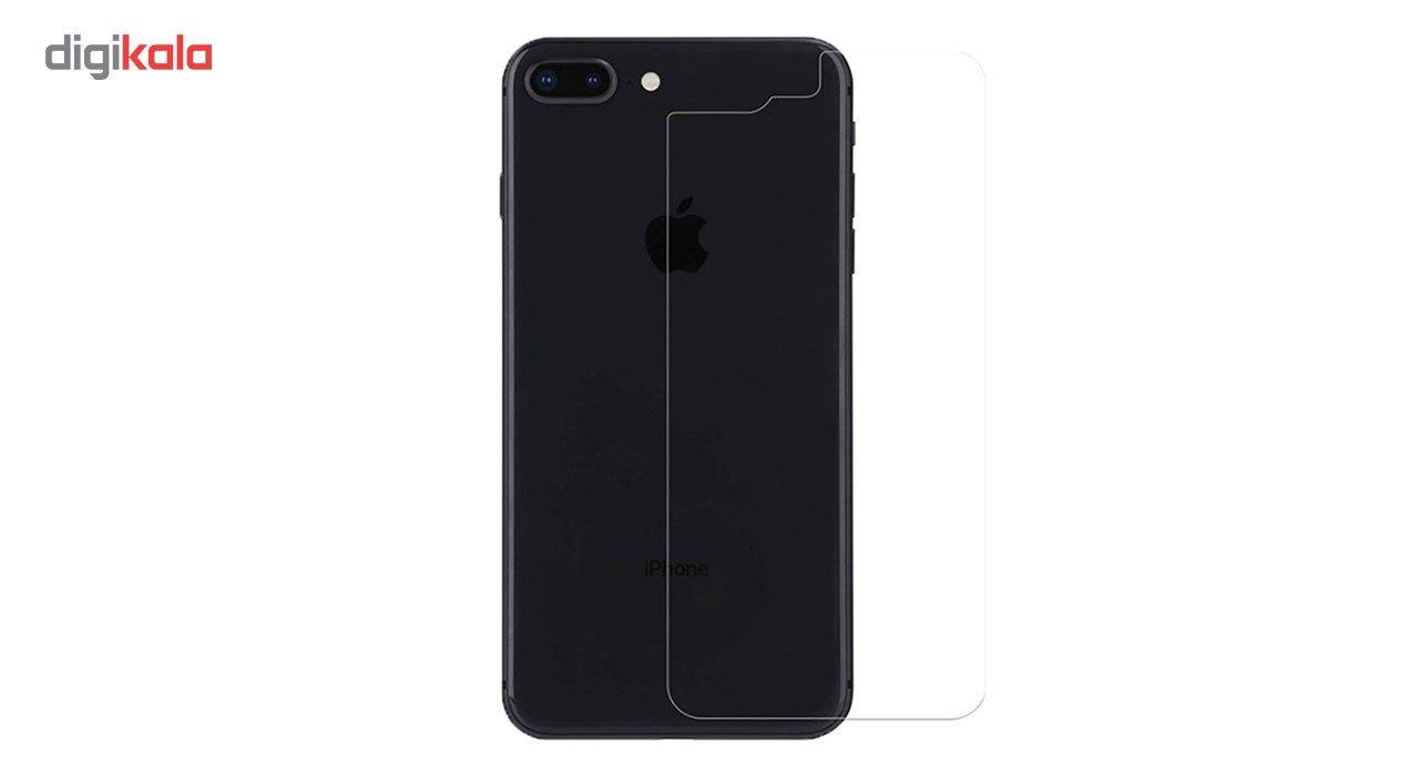 محافظ صفحه نمایش شیشه ای مات Full Cover و پشت شیشه ای Tempered کوالا مناسب برای گوشی موبایل اپل آیفون  7Plus/8 Plus main 1 6