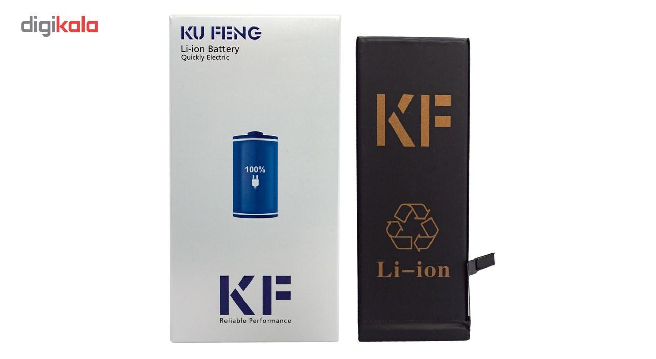 باتری موبایل کافنگ مدل KF-6G با ظرفیت 1810mAh مناسب برای گوشی های موبایل آیفون 6G main 1 1