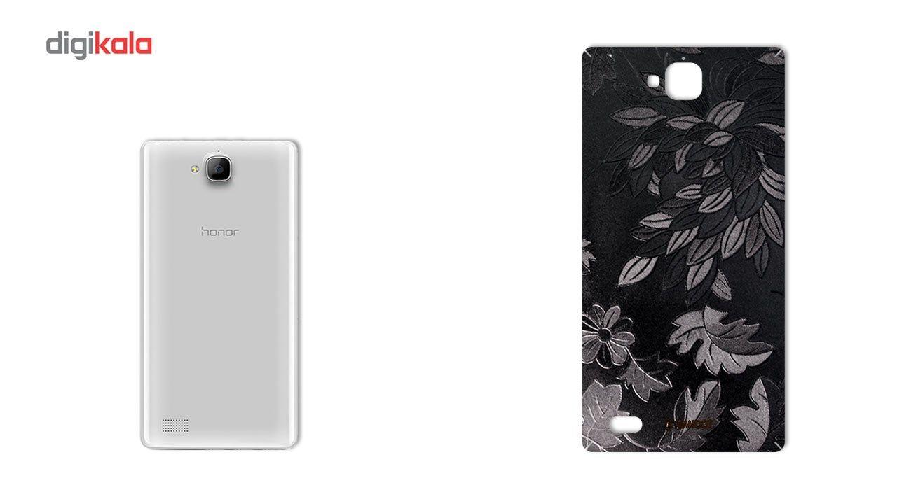 برچسب پوششی ماهوت مدل Wild-flower Texture مناسب برای گوشی  Huawei Honor 3c main 1 1