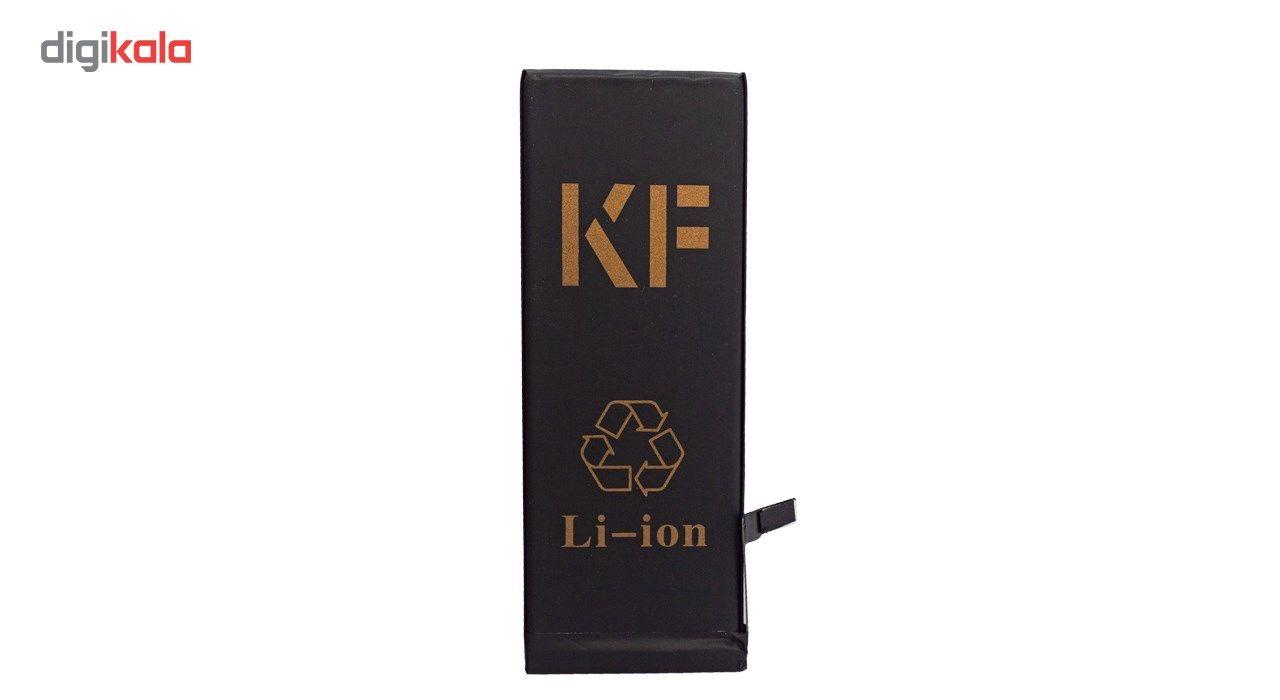 باتری موبایل کافنگ مدل KF-6G با ظرفیت 1810mAh مناسب برای گوشی های موبایل آیفون 6G main 1 2