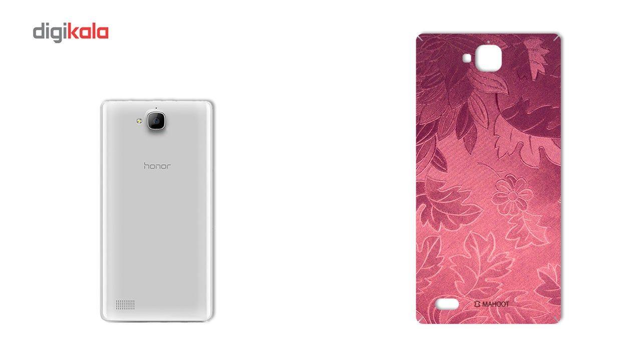 برچسب پوششی ماهوت مدل Wild-flower Texture مناسب برای گوشی  Huawei Honor 3c main 1 2