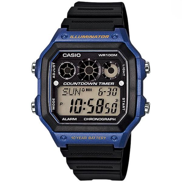 ساعت مچی دیجیتالی کاسیو AE-1300WH-2AVDF