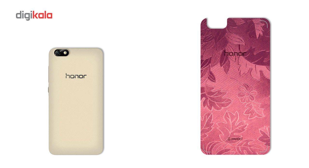 برچسب پوششی ماهوت مدل Wild-flower Texture مناسب برای گوشی  Huawei Honor 4X main 1 2