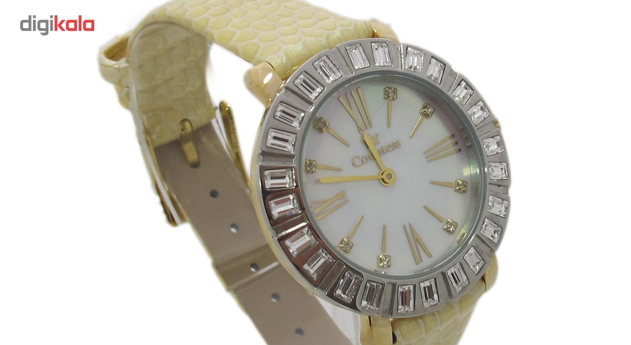 ساعت مچی عقربه ای زنانه کنتس مدل CTS14607GA              ارزان