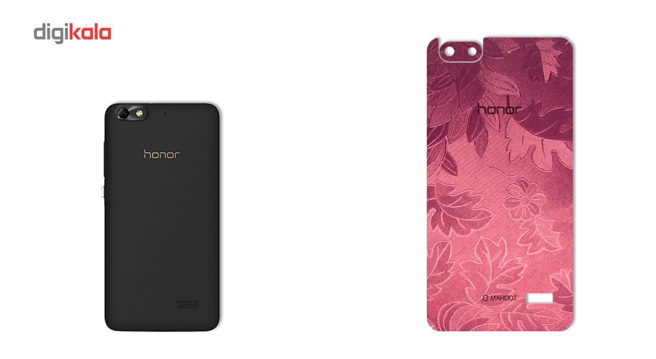 برچسب پوششی ماهوت مدل Wild-flower Texture مناسب برای گوشی  Huawei Honor 4c main 1 2