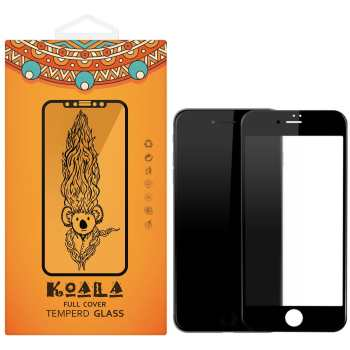 محافظ صفحه نمایش شیشه ای مات کوالا مدل Full Cover مناسب برای گوشی موبایل اپل آیفون 7/8