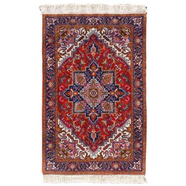 قالیچه دستباف طرح هریس گالری سلام کد 970101