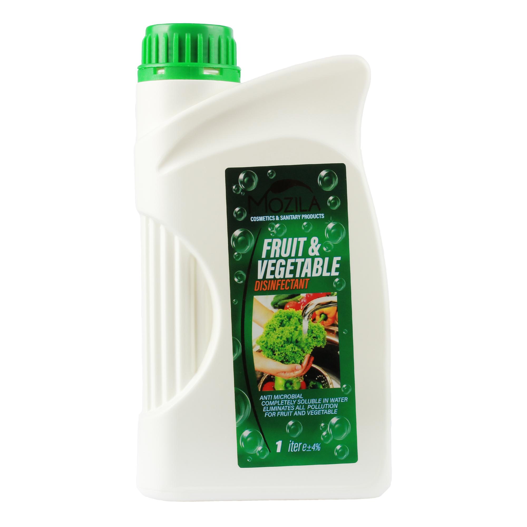 خرید                     محلول ضد عفونی کننده میوه و سبزیجات موزیلا مدل 01 حجم 1000 میلی لیتر
