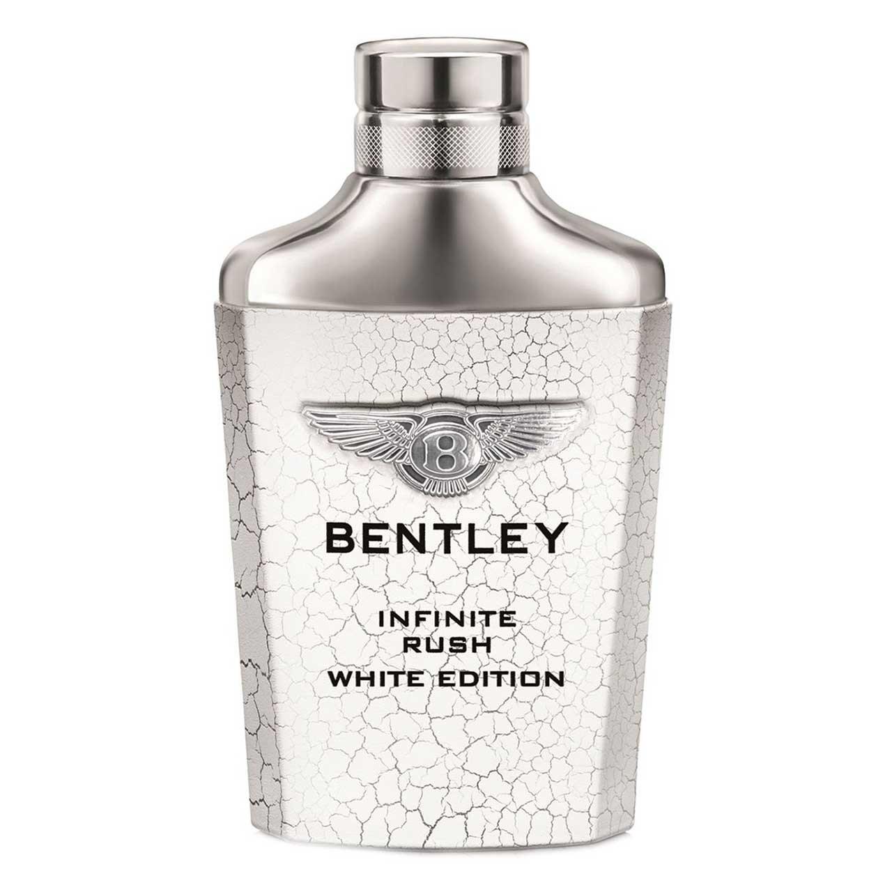 تستر ادو تویلت مردانه بنتلی مدل Infinite Rush White Edition حجم 100 میلی لیتر