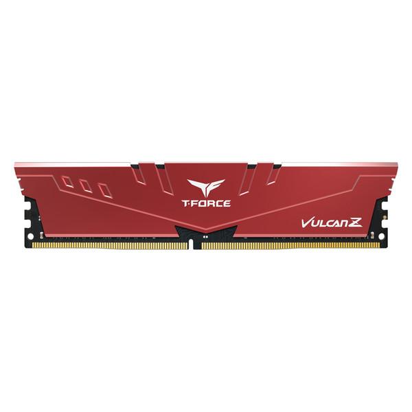 رم کامپیوتر DDR4 تک کاناله 2666 مگاهرتز CL18 تیم گروپ مدل VULCAN Z Gaming ظرفیت 8 گیگابایت