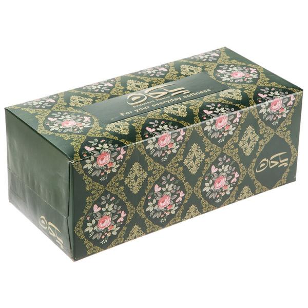 دستمال کاغذی 100 برگ پاکان مدل Shahkar