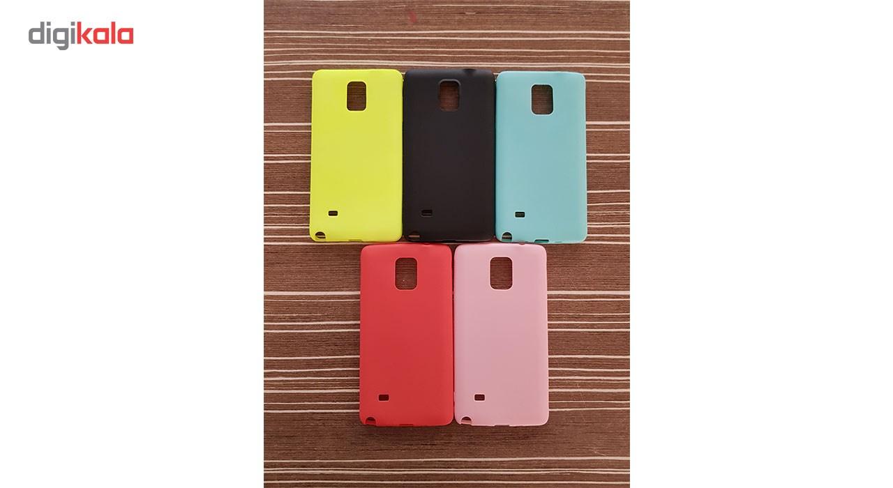 كاور ژله اي مدل Soft Jelly مناسب براي گوشي موبايل سامسونگ Galaxy Note4