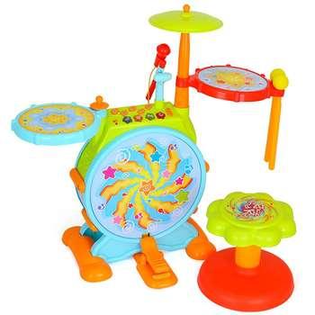 بازی آموزشی هولی تویز مدل Melodious Jazz Drum