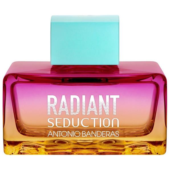 تستر ادو تویلت زنانه آنتونیو باندراس مدل Radiant Seduction Blue حجم 100 میلی لیتر