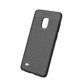 کاور ژله ای طرح چرم مناسب برای گوشی موبایل سامسونگ Note 4