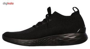 کفش راحتی مردانه اسکچرز مدل Go Strike  Skechers Go Strike Casual Shoes For Men