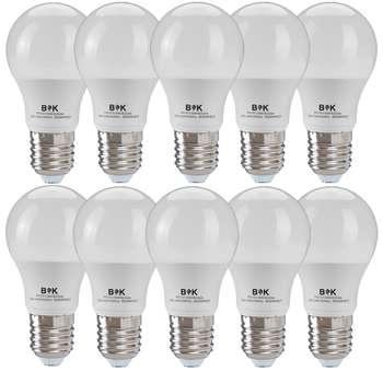 لامپ ال ای دی 9  وات بابک مدل حبابی پایه E27 بسته 10 عددی