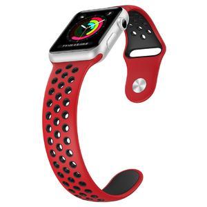 بند سیلیکونی طرح Nike مناسب برای اپل واچ 38 میلی متری
